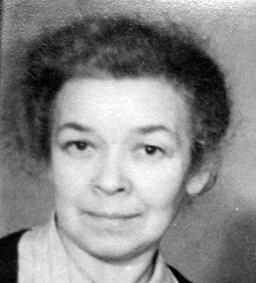 Anna Kothe around 1940, archive signature 6/FOTB062392